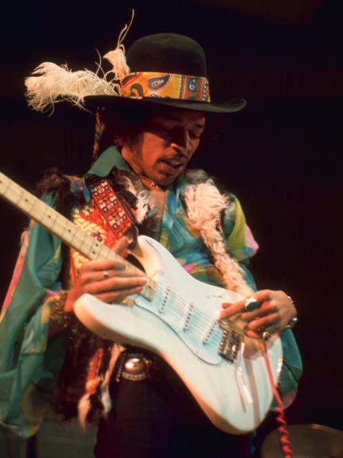 A pustincha became part of the Hendrix look.