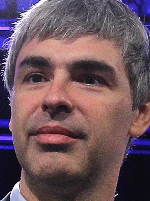Larry Page. File photo