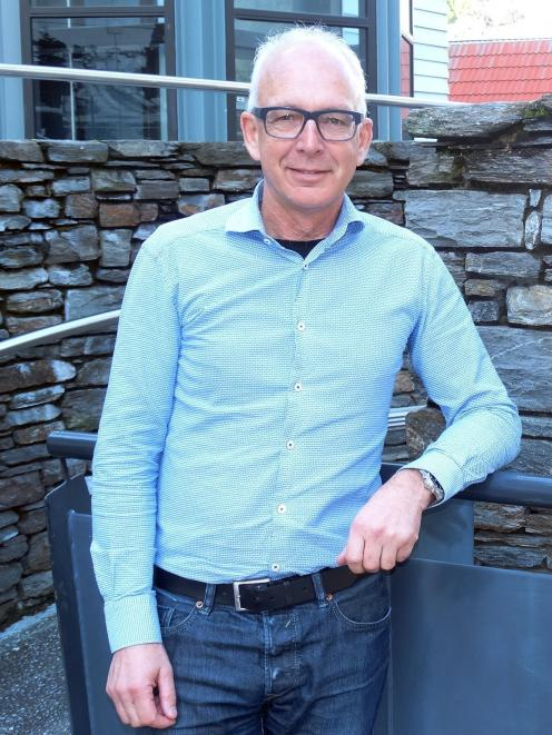 Queenstown Airport Corporation's next chief executive, Glen Sowry, in the resort this week. PHOTO...