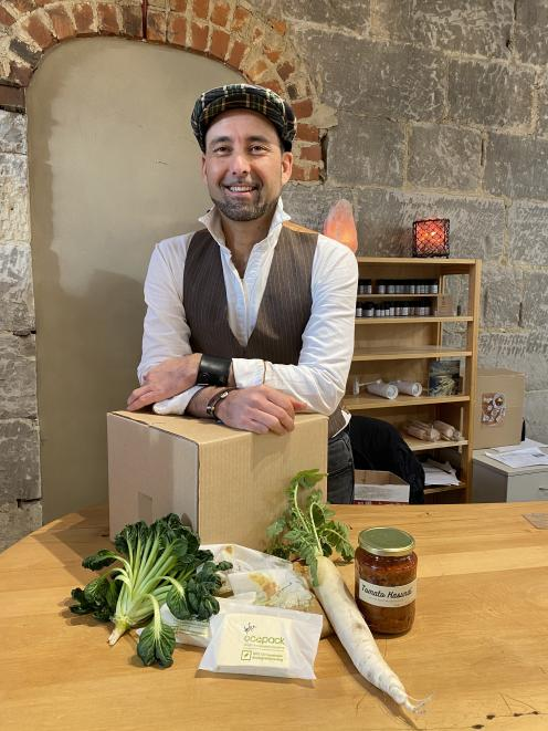 Taste Nature owner Clinton Chambers is excited about the store's new range of organic, gluten...