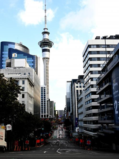 Auckland City has dropped to Level 3. PHOTO: GETTY IMAGES