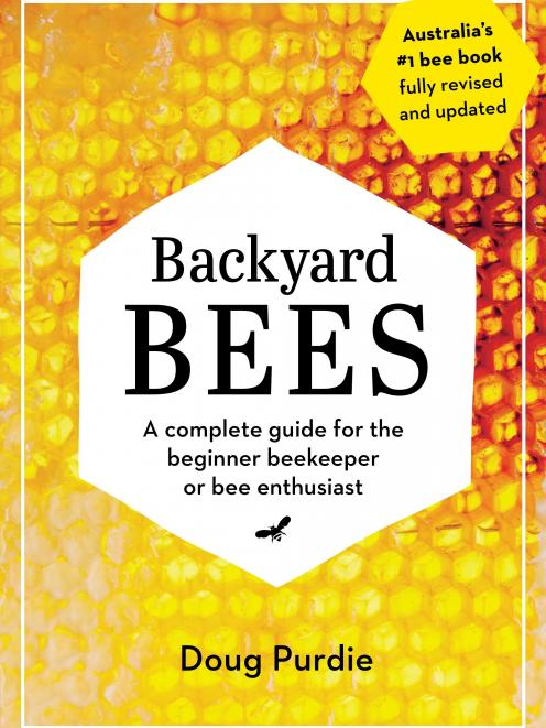 THE BOOK: Images and text from Backyard  Bees by Doug Purdie, photography  by Cath Muscat....