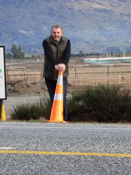 Wanaka developer Allan Dippie believes there has been ''phenomenal interest'' in commercial...