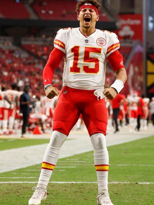 Kansas City Chiefs quarterback Patrick Mahomes. Photo: Getty Images