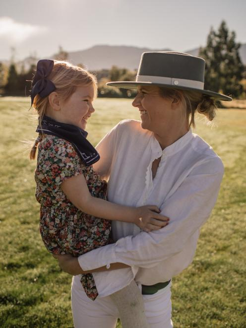 Bex Hayman and her daughter Isabella (4) wear some Whistle & Pop accessories.PHOTO: SUPPLIED...