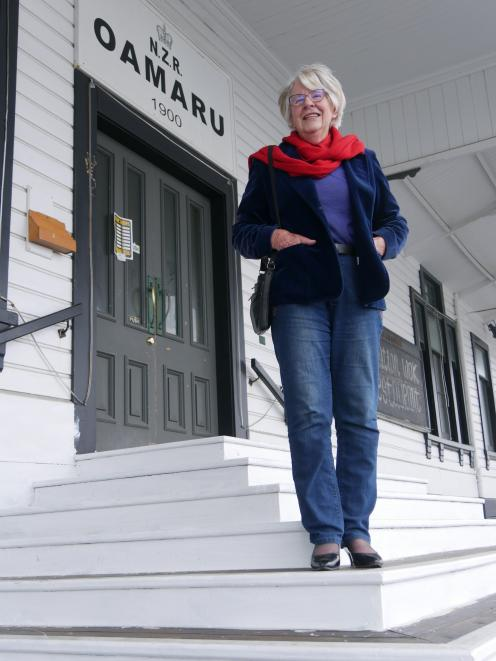 Historian Helen Stead would like to see a resurgence in railway passenger travel, and the Oamaru...