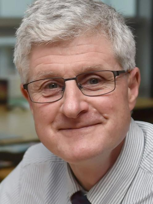 Prof Peter Crampton. Photo: Gregor Richardson