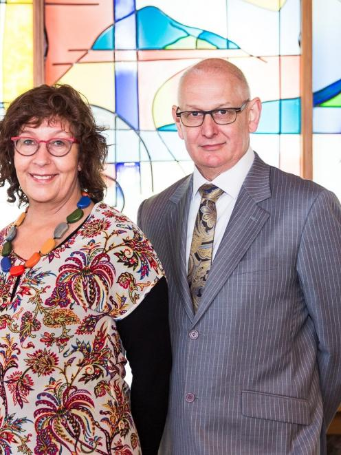 Support in bereavement . . . Elizabeth Goodyear and Keith Gillions, of Gillions Funeral Services,...