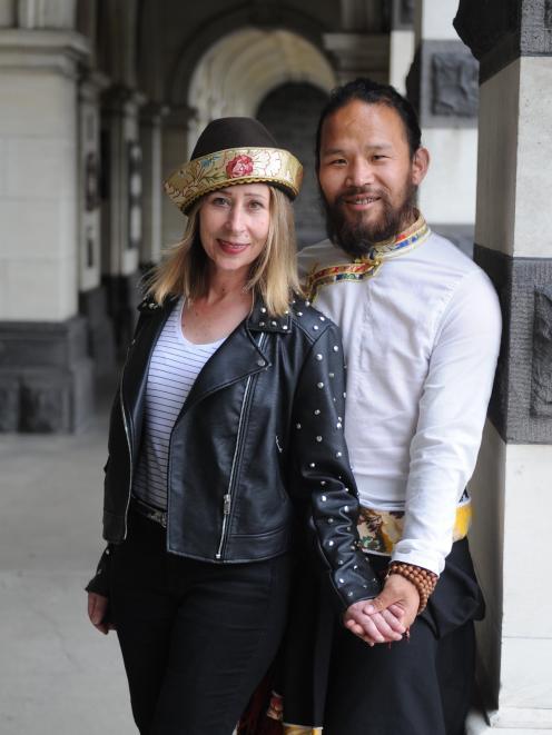 Patricia and Dorjee Tsering. Photo: Christine O'Connor