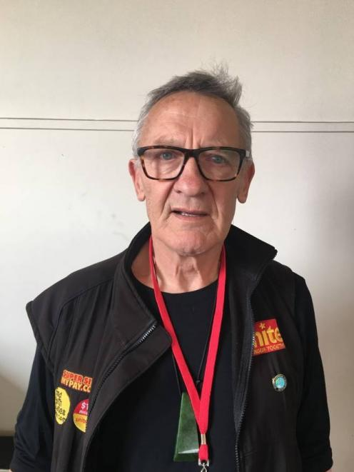 Unite Union national director Mike Treen. Photo: Supplied via NZ Herald