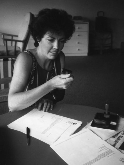Sally Battson, who spent 23 years in Makarora.