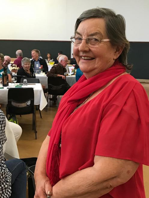 West Otago Rose Society president Joan Brenssell put her club forward to host this year's...