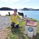 Ceramic artist Tina Grubba, of Port Chalmers, has been the creative force behind the Back Beach...