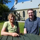 Alexandra-Clyde-Lauder Union Parish minister the Rev Andrew Howley and parish clerk Beryl Dittmer...