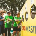 Womad had ''zero waste'' facilities to collect used food items for composting, including the...