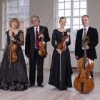 The Kuijken Quartet will be performing Haydn and Mozart string quartets on period instruments for their CMNZ tour. Period musical instruments are either originals or copies of instruments from the time the composers were writing. Photo: Supplied
