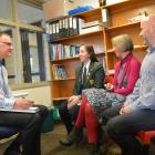 Mentoring meetings with families assist in maximising the potential of each young person.