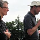 Jessica Dohmen-Vereijssen, from Plant and Food Research, and Charles Merfield gave tips on managing the tomato potato psyllid at the Crops 2014 expo at the Foundation for Arable Research Chertsey site. Photos: file