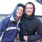 Kate Benson, of Ireland, and Andrew Sharples, of Scotland.