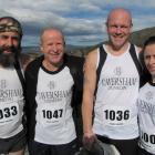 From left: Andrew Glennie, Neville Shanks, Scott McRodden and Laura McRodden, all of Dunedin