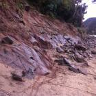 Damage caused by the deluge of July 21-22 has closed the Outram Glen Track. Photos: Supplied
