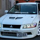 Hot Japanese cars such as this 2001 Mitsubishi Evo 7 are a special feature this year.