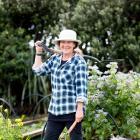 Claire Mummery from Grow Inspired on Waiheke Island. Photo: Babiche Martens