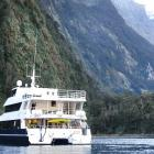 The Fiordland Jewel in a sheltered bay. Photos: David Williams