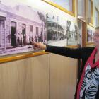 Clyde Historical Museums committee member Carol Haig looks over some of the historic photos on...