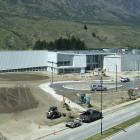 An elevated view of the new school. Photo: Guy Williams