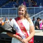 Show Queen  Marinka Kingma, of Balclutha, at the 151st South Otago A&P Show on Saturday. Photos:...