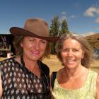 Karen Scott, of Kingston, and Rosie Thompson, of Arrowtown.