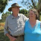 In addition to breeding Stewart Island sheep and running alpacas and Drysdale sheep, Ron and Kathleen Gallagher are well-known country music performers. Photos: Yvonne O'Hara