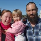 Shannon and Danny Douglas with their daughter Scarlett (18 months), of Te Anau.