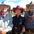 David Keast, of Kaiapoi, and Maxine and Brian Pelham, of Prebbleton.