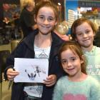 Louise (11), Hannah (7) and Renee (9) Lawson, all of Dunedin.
