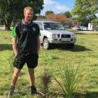 Stewart Watson, of Golden Bay, considers his riparian planting options as part of an environmental module. Photos: David Hill