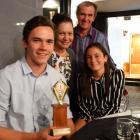 Tiarn, Lianne, Greg, and Kaiya (13) Collins, of Queenstown.