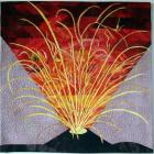 Three New Zealand interpretations of Natural Wonders in an international quilting exhibition...