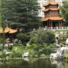 The Gurr (Clear View Pavilion) at the top of Sydney's Chinese Garden of Friednshiop and the Twin...