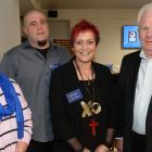 Glenys Forsyth, of Dunedin, Luke Griffin, of Milton, award recipient Kerri Oliver, of Milton, and Lindsay Smith, of Dunedin.