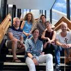 New Zealand ensemble Stroma will create the soundtrack to Ross' book.