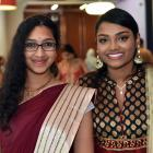 Hemma Pannirselvam and Chandraleka Anantha Raj. Photos: Peter McIntosh