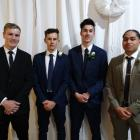 Max Smith (17), Jack Souness (16), Quaid Heap (18) and Jacob Tuisani (17), of Oamaru.
