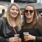 Kayla Mahon and Rebecca Jackson, both of Dunedin.