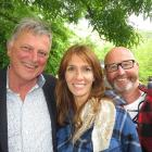 Andrew Blair, Marion Botherway and Michael Thomas, all of Arrowtown.