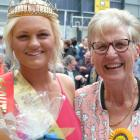 South Otago A&P Show Queens of 50 years ago and today, Annette Meyer (right) of Alexandra, and...