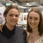 Michaela Roy, of Dunedin, and Amber Harvey, of Gore.
