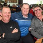 Trevor Bell, John Clearwater and Andrew Miller, all of Dunedin.