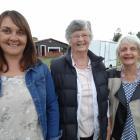 Jacqui McLay, Carol Selfe and Marlene McKerrow, of Oamaru.